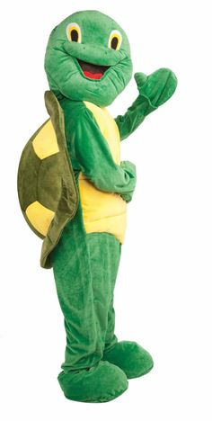 For sale online Forum Deluxe Plush Turtle Mascot Costume, Green, One Size for Halloween Gifts Idea Deals for Gifts Idea Deal