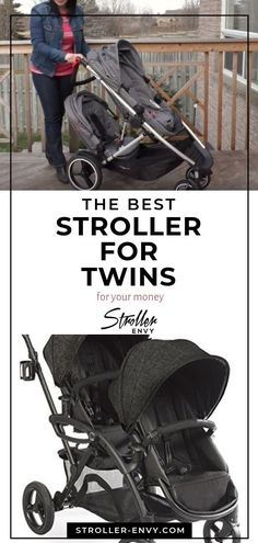 Expecting twins? If you're pregnant with twins or already a dad or mom of multiples, our guide has helpful tips to help you find the best double stroller on a budget! Let us help your pregnancy for new moms be less stressful when the newborns arrive! #babygear #babystroller #doublestroller #tandemstroller #momsofmultiples