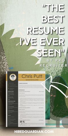 The resume is very vital from the job seeker's point of view, as it creates that first impression in the minds of employers. It helps them to understand your background, work experience, and skills. You must create an EFFECTIVE resume because your resume will be one of the hundreds, if not thousands, that employers will see so you should ensure that it STANDS OUT and promotes your services. #creativeresume #modernresume #resumetemplate College Resume, Business Resume, Professional Resume Examples, Good Resume Examples, Modern Resume Template, Resume Templates, First Resume, Effective Resume, Create A Resume