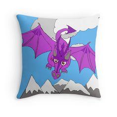 whimsical sky dragon