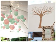 Mint and Pink Vintage Storybook Wedding on Oh Lovely Day | photos by Tauran Photography and LKC Studios