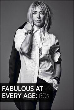 Fabulous at Every Age: Kim Gordon, 60s