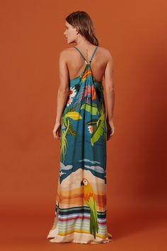 Beautiful Gowns, Beautiful Outfits, Black Chicks, Elegant Maxi Dress, Novelty Print, Blue Satin, Maxis, Women's Summer Fashion, Summer Trends
