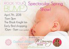 Baby and mom show poster for advertising Mom Show, Red Deer, Doula, Trade Show, Advertising, Children, Baby, Poster, Young Children