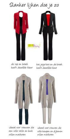 Meteen slanker lijken door je slim te kleden