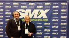 Michael Kohlfürst und Andrea Starzer von www.Promomasters.com bei der #SMX West 2014 in San Jose - Search Marketing Expo