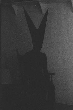Bunny Man III by Jerry Scott #dark #occult #creepy #photography #bw #horror