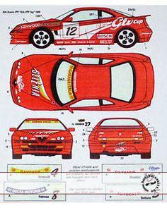 STUDIO27-DECAL-ALFA-GTV-CUP-1-24-TAMIYA-ALFA-ROMEO-GTV