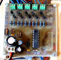 The LED sign controller board