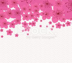 Chinese New Year - plum blossom Background royalty-free stock vector art