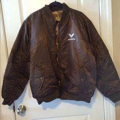 Avirex Reversible Bomber Jacket Vintage Avirex Reversible Bomber Jacket. In great condition, looks new. Has camo print inside Avirex Jackets & Coats