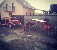 Štartuje záchranná akcia / zrodenie Frankensteina #skoda #skoda110r  #custom  #slovakia  #kosice  #košice  #welding  #carbodydesign #restoration