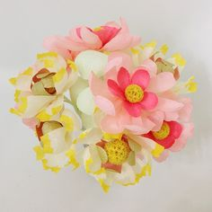 Paper flowers : Blooms in the Air
