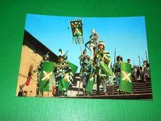 Cartolina Arezzo - Giostra del Saracino - Rappresentativa di Porta S Andrea 1969