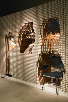 Digit, store installation by Yoshimasa Tsutsumi for Diesel Art Gallery