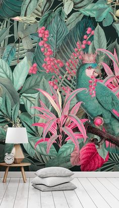 Kingdom of Birds Wallpaper Mural by Andrea Haase
