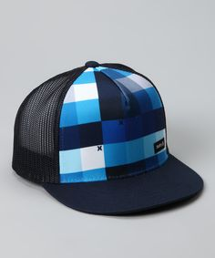 937af3c043d18 Quartz blue trucker hat from Hurley on  zulily today! Hurley Hats