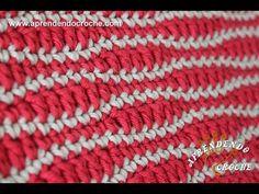Crochet Stitches Patterns, Crochet Designs, Stitch Patterns, Crochet Mittens, Stitch 2, Crochet Videos, Love Crochet, Lana, Knitting
