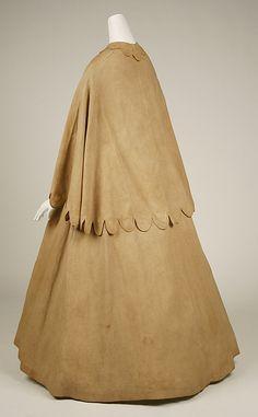 Linen Duster, 1860-65
