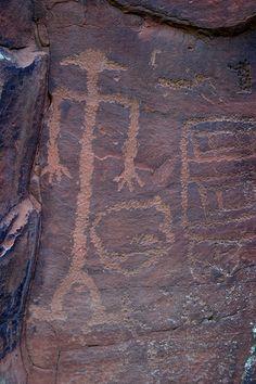 Petroglyphs in Sedona