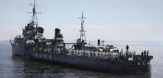 IJN Destroyer Hatsushimo of the Japanese Imperial Navy - 日本海軍駆逐艦-初霜
