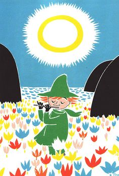 Oh Look it's Little My! Tove Jansson
