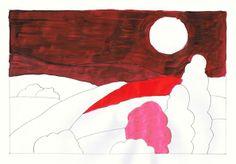 Lehramtspraktikum: Kunstunterricht - Unterricht planen und gestalten - Praktikumsbericht -  Gedanken zum Bild Mit und Gegen von Wassily Kandinsky Wassily Kandinsky, Flag, Painting, Art, Art Education Resources, Thoughts, Pictures, Art Background, Painting Art