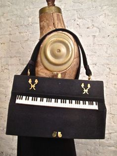 40s Anne Marie of France Piano Purse