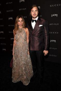 Erica Pelosini and Louis Leeman.. Gucci look..