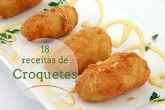 18 receitas de Croquetes, crocantes e deliciosos