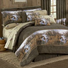 Shop rustic bedding and unique lodge bed comforters sets. Rustic bedding offers luxury unique quality cabin and lodge linens. Twin Comforter Sets, Teen Bedding, King Comforter, Bedding Sets, Camo Bedding, Western Bedding, Rustic Bedding, Modern Bedding, Bed In A Bag
