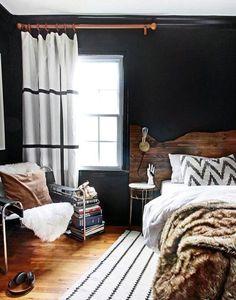 Rustic Bachelor Pad Bedroom Colors For Men
