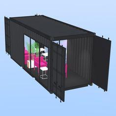Container Double Porte