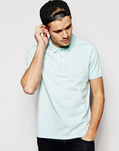 Image 1 ofASOS Polo Shirt In Jersey