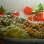 sgombri alla griglia - con salsa di avocado