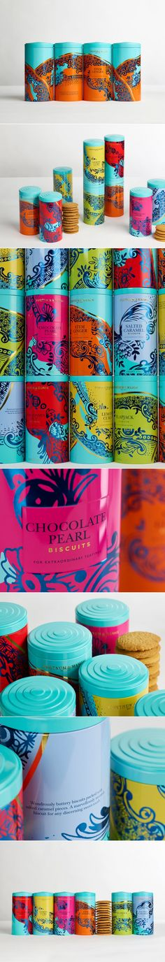Fortnum and Mason's Biscuits Will Make For Extraordinary Teatimes — The Dieline | Packaging & Branding Design & Innovation News