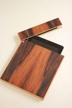 Wooden iPad Holder