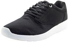 Men Crosshatch Shoes Buckskin Black-White Sole 9 - http://on-line-kaufen.de/crosshatch/9-uk-men-crosshatch-designer-new-low-ankle-light-5