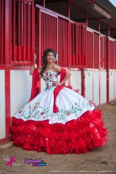 Mexican Quinceañera Dress