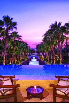 Altamira Reflecting Pool. The St. Regis Punta Mita Resort.