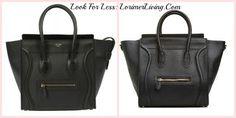 Lorimer Living: Organize, Decorate & Eat!: Look for Less--Structured Handbag