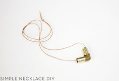 -DIY- Le collier quincaillerie from AMM