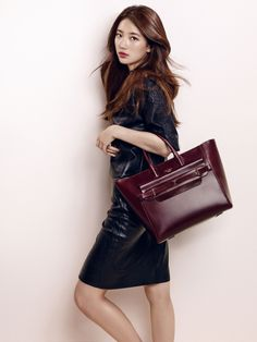 Miss A Bae Suzy Bean Pole Accessory Fall Winter 2015 Collection Bags