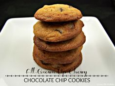 Olla-Podrida: All-Grown-Up Chewy Chocolate Chip Cookies