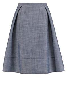 Spódnica plisowana - mid indigo