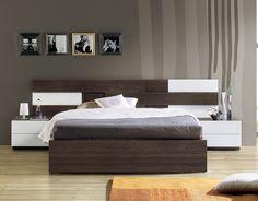 Dormitorio moderno (1304 – D1) - Muebles CASANOVA