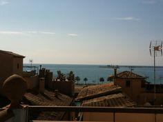 The view of the sea from Hotel Palacio Ca Sa Galesa.