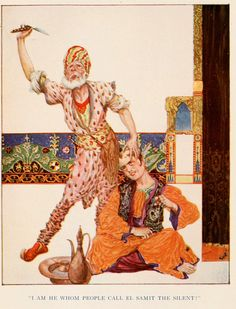 "Willy Pogany, ""More Tales From The Arabian Nights"" - 1915"