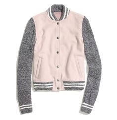 Madewell Team Jacket: This Madewell Team Jacket in Dusty Clay ($178) puts a feminine spin on the baseball-jacket trend. The pastel shades and cozy, nubby sleeves offer a cool alternative to the harder-edged, leather-accented versions that currently dominate the racks. A gift as sure to appeal to your sophisticated style blogger friend as your tween-age niece.  — Lindsay Miller, LA editor