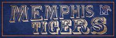 Memphis Tigers Pub Sign  $24.99